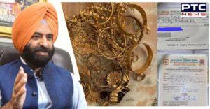 Delhi Sikh person Golden Palaki Sahib at Kartarpur Sahib Donated All gold