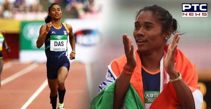 No stopping for Hima Das, bags fourth gold medal within 15 days