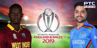 Afghanistan vs West Indies, ICC Cricket World Cup 2019