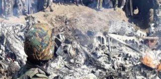 Mi-17 chopper crashed near Budgam