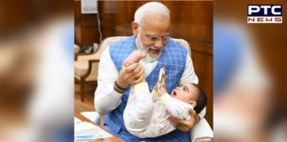 PM Narendra Modi with baby: When Special Friend came to meet him in Parliament