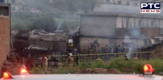 Pakistan: 17 people including 5 crew members and 12 civilians killed after Pakistan aircraft crashed