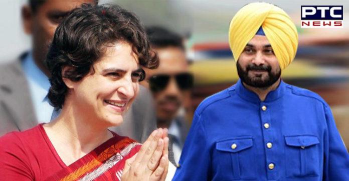 Priyanka Gandhi May take important decisions Congress Navjot Sidhu