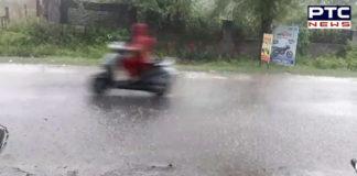 Heavy rainfall Ludhiana