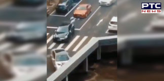Traffic 'Disappearing' From Bridge, video goes viral, you'll definitely scratch your head