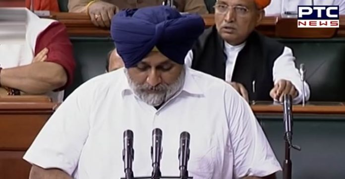 Sukhbir Badal makes out case for making Chandigarh capital of Punjab in parliament