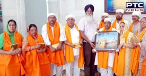 Sultanpur Lodhi Nagar Council President Including other members at Sri Harmandir Sahib