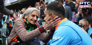 Virat Kohli as promised, gets Charulata Patel with tickets for ICC Cricket World Cup 2019