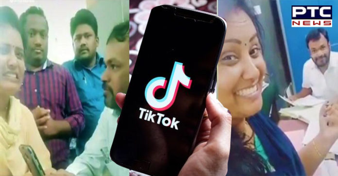 Telangana government officials transferred for making TikTok videos in office premises