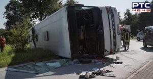 Mexico Bus Accident , 15 death 21 injured