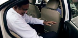 Congress leader P Chidambaram leaves from delhi high court