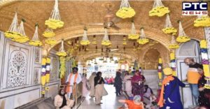 Sri Harmandir Sahib , Sri Akal Takht Sahib And Gurudwara Baba Atal Rai Sahib Ji Flower decoration