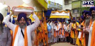 International Nagar Kirtan departs from Kharagpur, West Bengal to Jamshedpur, Jharkhand