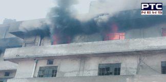Ludhiana: Massive Fire breaks out in Trimurti Hosiery Mills in Sunder Nagar, 50 Fire tenders rushed to the spot