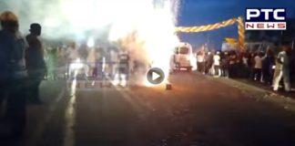 WATCH: That's How Bareilly welcomed International Nagar Kirtan, coming from Sri Nankana Sahib