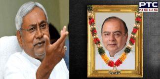 Arun Jaitley Statue to be installed in Bihar, announces CM Nitish Kumar