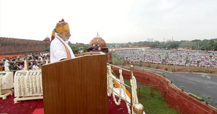 In less than 70 days of new govt, Art 370 is history: PM in I-Day address