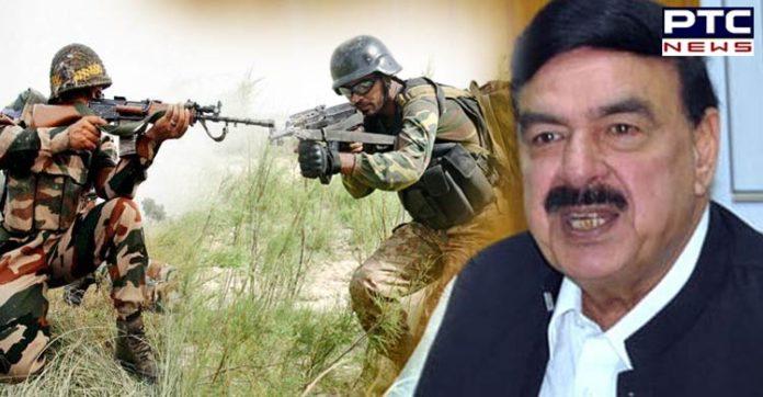 Pakistan Railways Minister Sheikh Rashid Ahmed predicts India Pakistan war in October