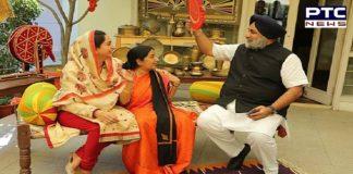 Sushma Swaraj Death: Sukhbir Singh Badal, Harsimrat Kaur Badal shares beautiful message for Former External Affairs Minister