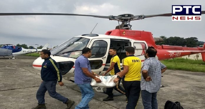 Uttarakhand Floods: Relief material sent on two Indian Air Force helicopters to flood-affected Arakot in Uttarkashi