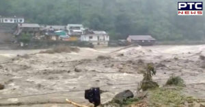 Uttarakhand Uttarkashi district Flash floods in after cloudburst ,17 people died