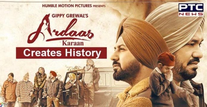 Ardaas Karaan featuring Gippy Grewal creates History; emerges highest grossing Punjabi film in Australia and New Zealand