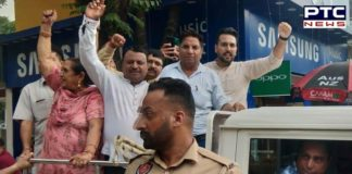 Punjab Police detained BJP workers from Mohali for distributingsweets following the Article 370 scrapping