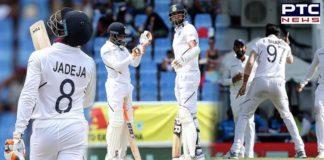 India vs West Indies 1st Test Day 2 Highlights: Ravindra Jadeja, Ishant Sharma helps team to dominate the hosts