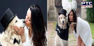 United Kingdom Former Model Elizabeth Hoad and her dog Logan With marriage