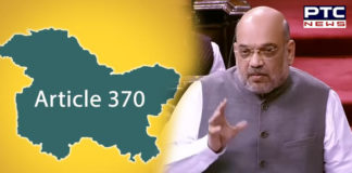 Amit Shah to move The Jammu & Kashmir Reorganisation Bill 2019 and resolution revoking Article 370 in Lok Sabha
