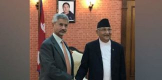 Jaishankar holds 'warm, in-depth' conversation with Nepal PM