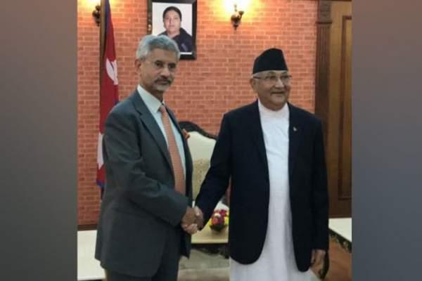 Jaishankar holds 'warm, in-depth' conversation with Nepal PM