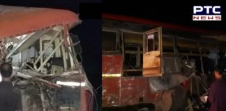 Maharashtra: 15 Died 35 injured in a road accident where truck collided with bus in Dhule
