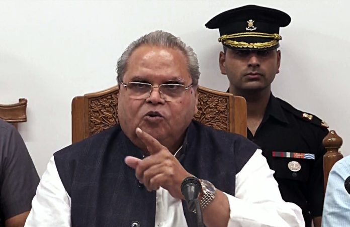 Satya Pal Malik announces 50 new colleges for J&K