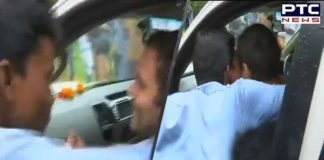 WATCH: Man kisses Rahul Gandhi during his Wayanad visit