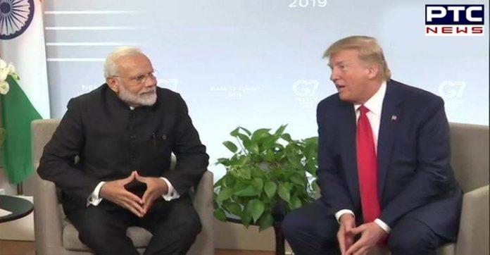 G7 Summit: US President Donald Trump raises Kashmir issue during bilateral meet with PM Narendra Modi