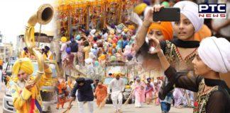 Day 2: International Nagar Kirtan proceeds for onward journey from Golden Temple