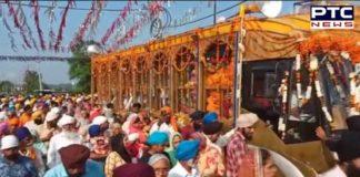 International Nagar Kirtan Third day Gurudwara Shri Darbar Sahib Dera Baba Nanak To next Stage