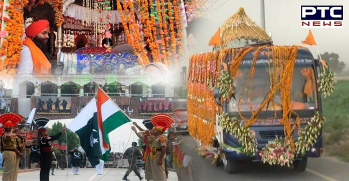 Watch: International Nagar Kirtan enters India from Sri Nankana Sahib to mark 550th Prakash Purab of Guru Nanak Dev Ji