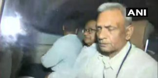 P Chidambaran taken into custody by CBI