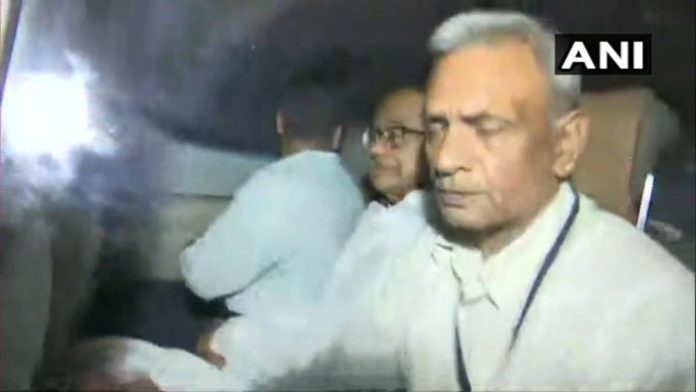 P Chidambaran taken into custody by CBI
