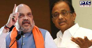 Amit Shah and P Chidambaram