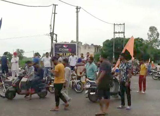 Jalandhar: Protest intensifies, highways blocked amid Punjab Bandh over Ravidas temple demolition
