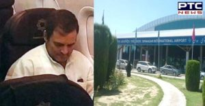 Rahul Gandhi Other Opposition Leaders Sent Back From Srinagar Airport