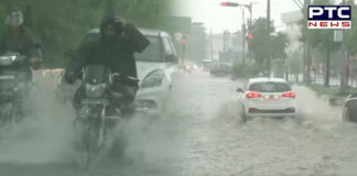 Punjab: Heavy Rain Lashes out in Ludhiana, streets waterlogged, see pictures