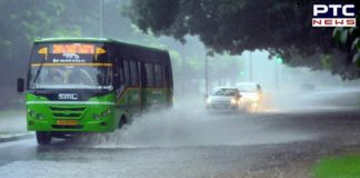 Chandigarh: Heavy rainfall lashes out in the Tricity