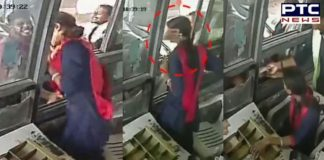Watch: Female toll collector slapped and manhandled at Gurgaon's Kherki Daula, she hits back