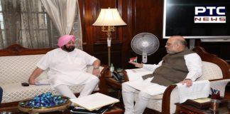 Punjab CM Captain Amarinder Singh meets Amit Shah, discusses issues