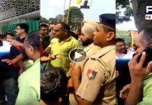 Chandigarh: Traffic cop, man lock horns over missing helmets of wife, kids