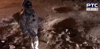 Astronaut lands on moon week before Chandrayaan 2 landing [FACT CHECK]